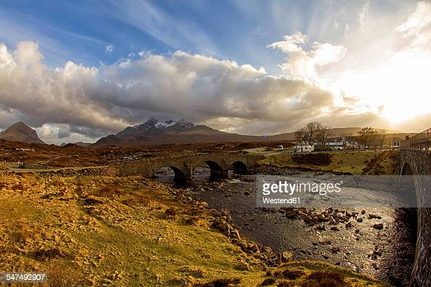 UK, Scotland, Isle of Skye, bridge