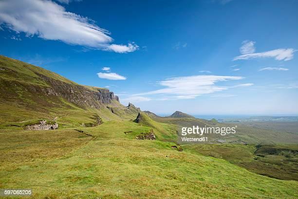 Scotland, Isle of Skye, Quiraing
