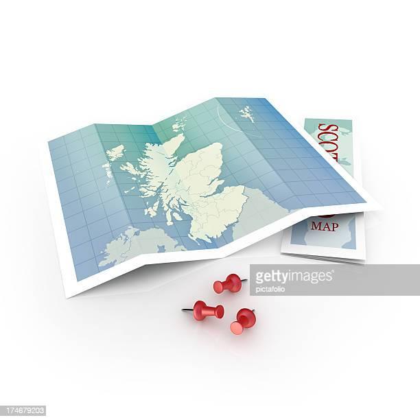Schottland-Karte