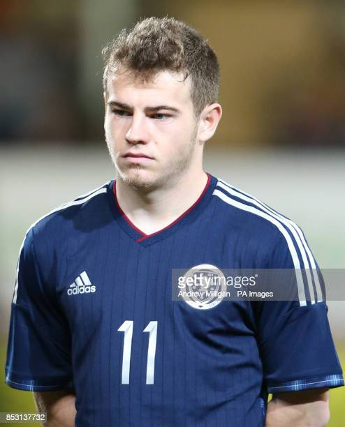 Scotland Ryan Fraser during the International Friendly at Tannadice Park Dundee