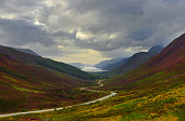 Scotland scenic road a832
