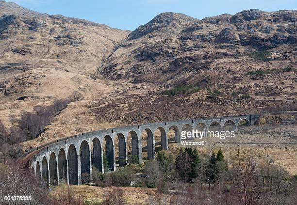 UK, Scotland, Scottish Highlands, Glenfinnan Viaduct