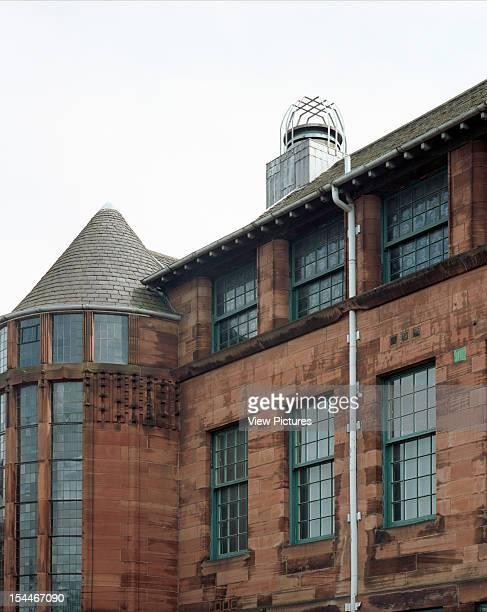 Scotland Street School Museum Glasgow United Kingdom Architect Charles Rennie Mackintosh Scotland Street Schcool Museum Exterior