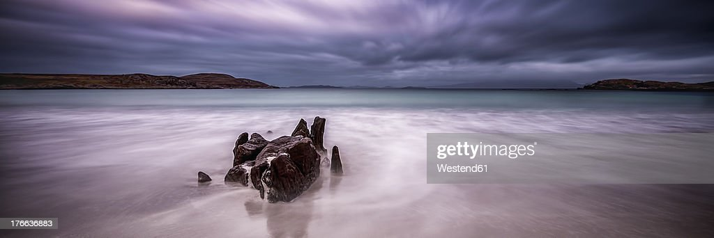 UK, Scotland, View of Mellon Udrigle beach at Wester Ross