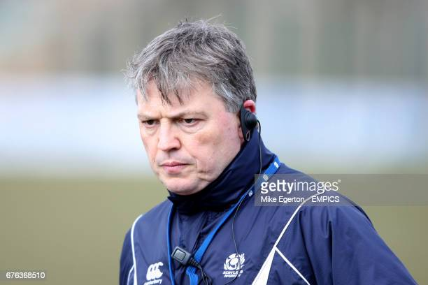 Scotland Women head coach Gary Parker
