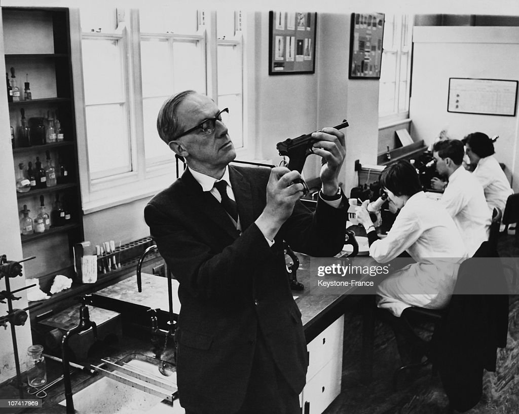 Scotland Yard Forensic Science Laboratory On April 3Rd 1964