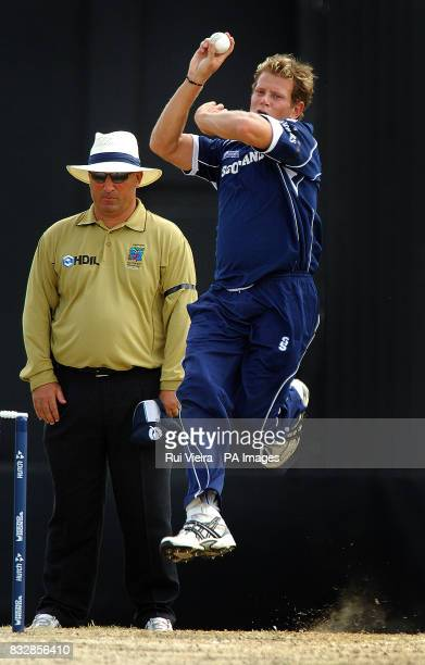 Scotland's Dewald Nel during the World Cup game between Scotland v South Africa at Warner Park St Kitts Tuesday March 20 2007 PA photo Rui Vieira