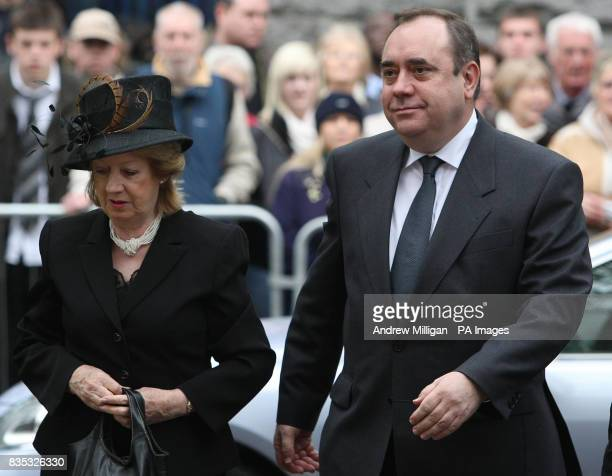 Scotlands first minister Alex Salmond and wife Moira attend the memorial service at Kirk of St Nicholas Uniting in memory of those killed in recent...