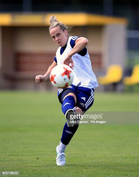 Scotland's Joelle Murray during a training session at VV Woudenberg Woudenberg