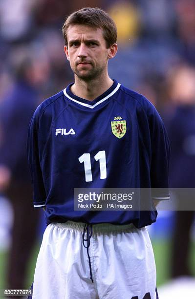 Scotland's Neil McCann during the World Cup Qualifying game at Hampden Park Glasgow 07/10/03 Neil McCann who has withdrawn from the Scotland squad to...