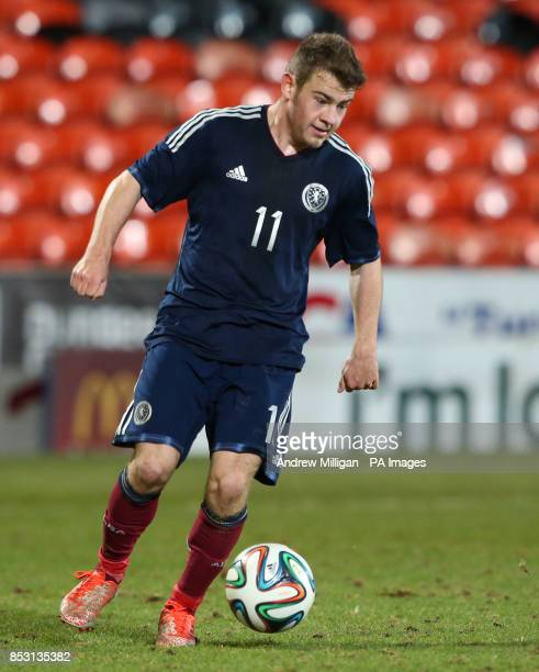 Scotlands Ryan Fraser during the International Friendly at Tannadice Park Dundee