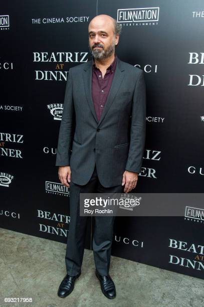Scott Adsit attends the Gucci The Cinema Society host a screening of roadside attractions 'Beatriz At Dinner' at Metrograph on June 6 2017 in New...
