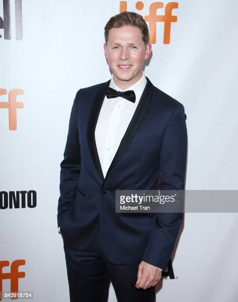 Scott Arthur attends the 'Borg/McEnroe' premiere 2017 TIFF Premieres Photo Calls and Press Conferences held during the 2017 Toronto International...