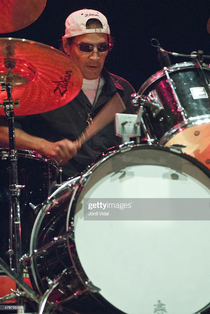Scott Asheton of Iggy Pop and The Stooges performs on stage on Day 1 of Azkena Rock Festival 2006 at Recinto Mendizabala on August 31, 2006 in Vitoria-Gasteiz, Spain.