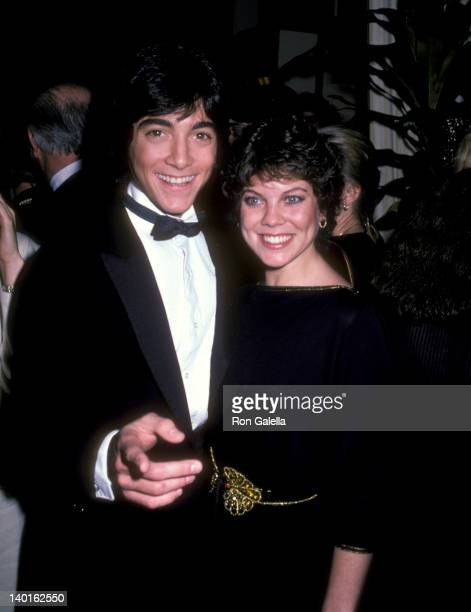 Scott Baio and Erin Moran at the 39th Annual Golden Globe Awards Beverly Hilton Hotel Beverly Hills
