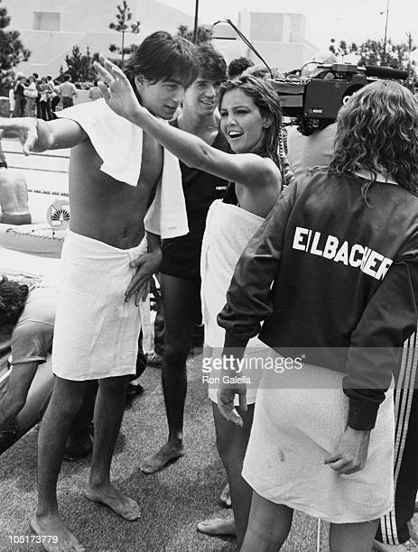 Scott Baio and Heather Locklear during Battle of the Network TV Stars at Pepperdine University in Malibu California United States