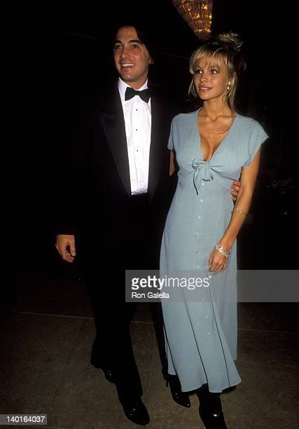Scott Baio and Pamela Anderson at the National Council of Aging Tribute to Giancarlo Parretti Beverly Hilton Hotel Beverly Hills