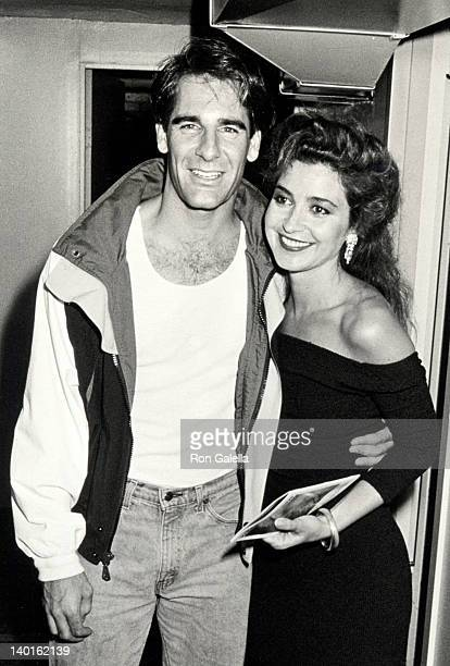 Scott Bakula and Annie Potts at the Performance of 'Romance Romance' Helen Hayes Theater New York City