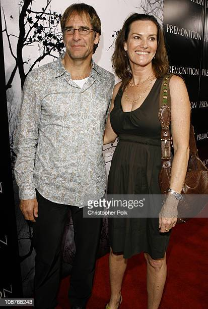 Scott Bakula and Chelsea Field during 'Premonition' Los Angeles Premiere Red Carpet at Cinerama Dome in Hollywood California United States