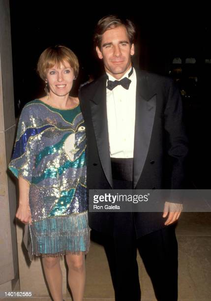 Scott Bakula and Krista Neumann at the 1991 International Broadcasting Awards Beverly Hilton Hotel Beverly Hills