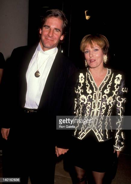 Scott Bakula and Krista Neumann at the 48th Annual Golden Globe Awards Beverly Hilton Hotel Beverly Hills