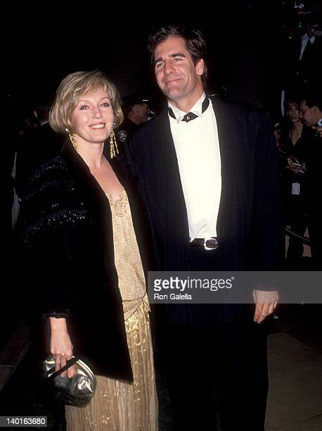Scott Bakula and Krista Neumann at the 50th Annual Golden Globe Awards Beverly Hilton Hotel Beverly Hills