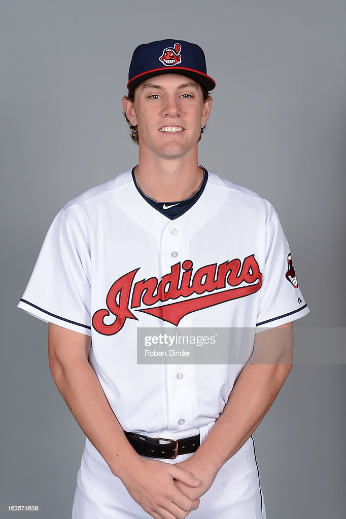 Scott Barnes #51 of the Cleveland Indians poses during Photo Day on February 19, 2013 at Goodyear Ballpark in Goodyear, Arizona.
