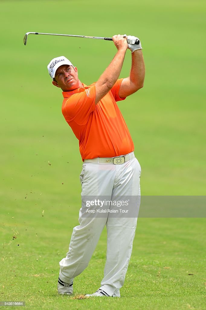 Scott Barr of Australia pictured during the ProAM tournament ahead of Yeangder Tournament Players Championship at Linkou International Golf Club on June 29, 2016 in Taipei, Taiwan.