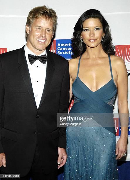 E Scott Beattie chairman and CEO of Elizabeth Arden and Catherine ZetaJones