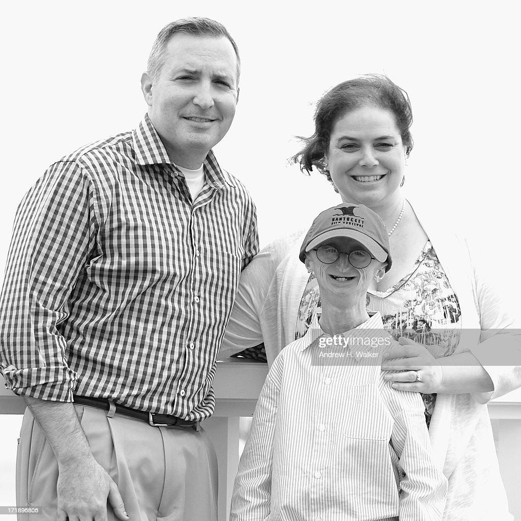 Scott Berns, Leslie Gordon and Sam Berns attend the 18th Annual Nantucket Film Festival on June 29, 2013 in Nantucket, Massachusetts.