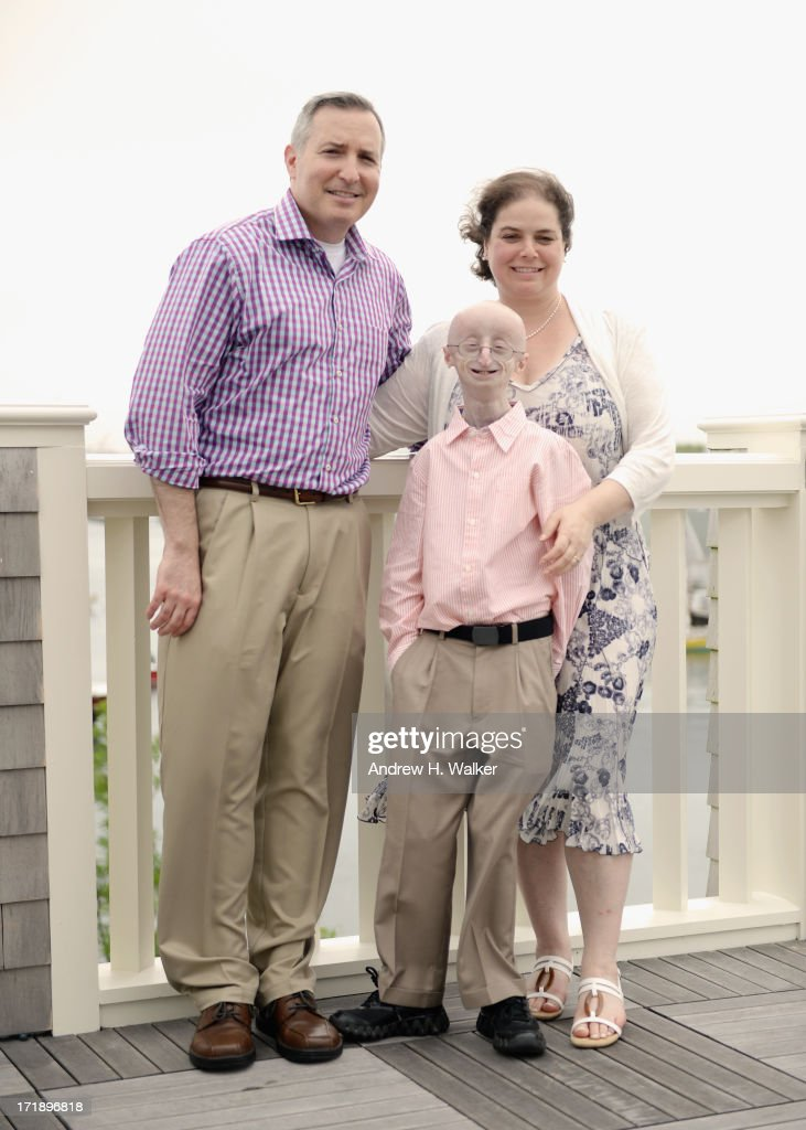 Scott Berns, Leslie Gordon and Sam Berns attend the 18th Annual Nantucket Film Festival on June 29, 2013 in Nantucket, Massachusetts.