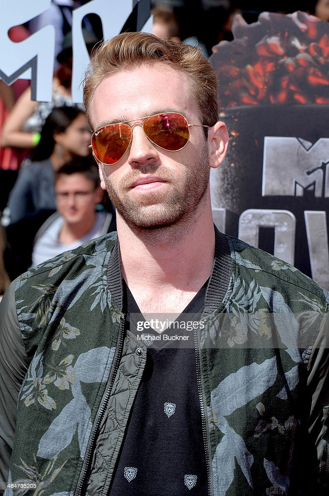 Scott 'Big Cat' Pfaff attends the 2014 MTV Movie Awards at Nokia Theatre L.A. Live on April 13, 2014 in Los Angeles, California.