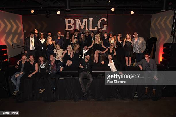 Scott Borchetta and the aritsts of The Big Machine Label Group attend the Big Machine Label Group Celebrates The 48th Annual CMA Awards in Nashville...