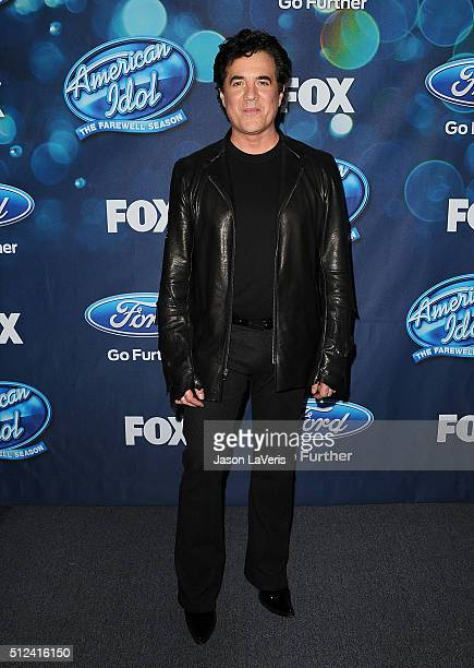 Scott Borchetta attends the The 'American Idol XV' finalists event at The London Hotel on February 25 2016 in West Hollywood California