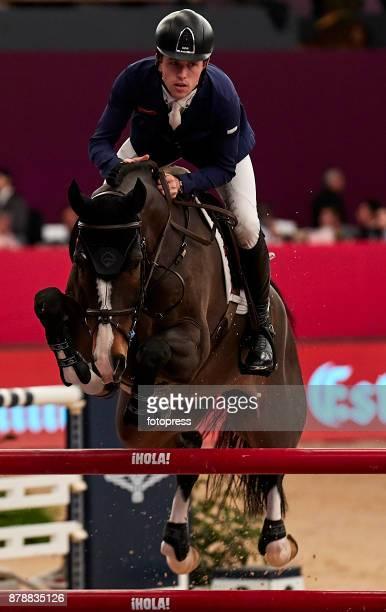 Scott Brash attends the Madrid Horse Week 2017 at IFEMA on November 24 2017 in Madrid Spain