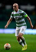 Scott Brown of Celtic in action during the UEFA Europa League group D match between Celtic FC and FC Astra Giurgiu at Celtic Park on October 23 2014...