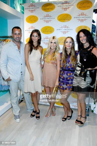 Scott Buccheit Allie Rizzo Tinsley Mortimer Harley VieraNewton Emma SnowdonJones and Gibear attend Tinsley Mortimer Hosts the Roberta Freymann East...
