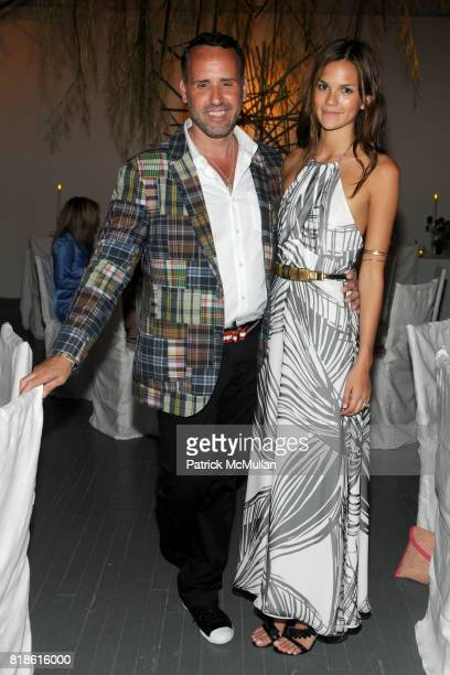 Scott Buccheit and Allie Rizzo attend Party on THE HIGH LINE and Summer Dinner at High Line on June 21 2010 in New York City