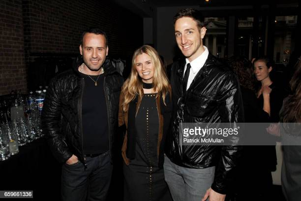 Scott Buccheit Susan Kilkenny and Zachary Barnett attend Private Evening at PHI with INTERVIEW to support ART PRODUCTION FUND at PHI on March 19 2009...