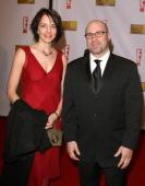 Scott Burns and guest during 12th Annual Critics' Choice Awards Arrivals at Santa Monica Civic Auditorium in Santa Monica California United States