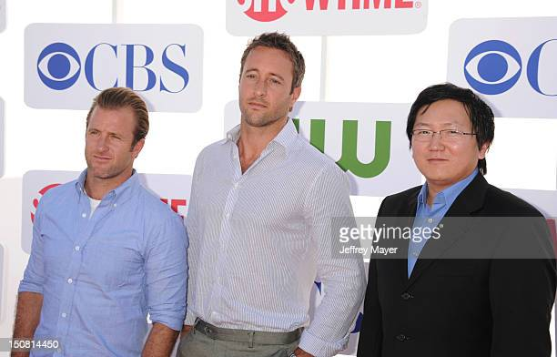 Scott Caan Alex O'Loughlin Masi Oka arrive at the CBS Showtime and The CW 2012 TCA summer tour party at 9900 Wilshire Blvd on July 29 2012 in Beverly...