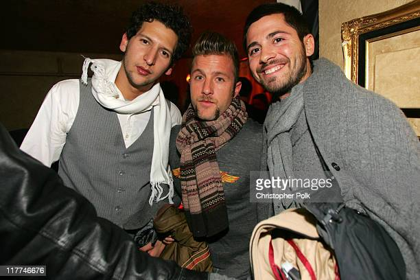 Scott Caan and guests during 2006 Sundance Film Festival ICM Agency Party at Premiere Film Music Lounge at Cain Inside Day 1 at Premiere Lounge in...
