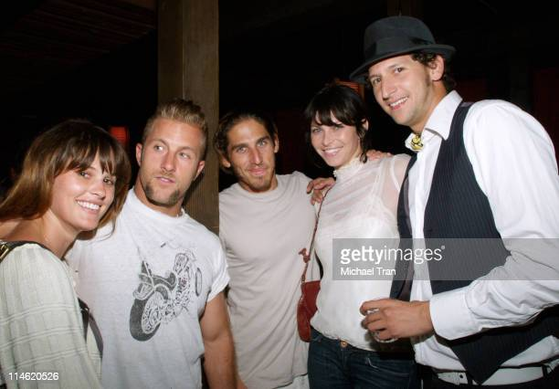 Scott Caan and Scarlett Chorvat with guests *EXCLUSIVE*