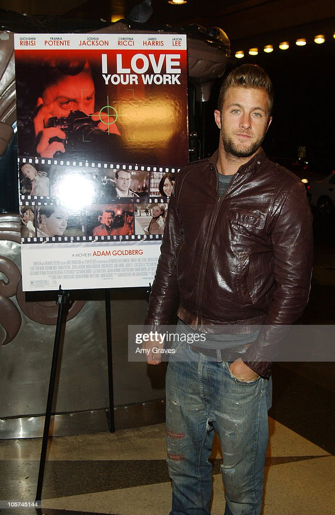 Scott Caan during 'I Love Your Work' Los Angeles Premiere at Laemmle Fairfax Theater in Los Angeles, California, United States.