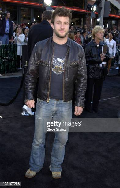 Scott Caan during 'The Matrix Reloaded' Premiere at Mann Village Theatre in Westwood California United States
