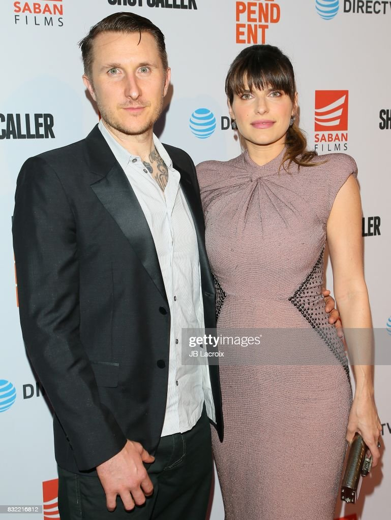 Scott Campbell and Lake Bell attend the screening of Saban Films and DIRECTV's 'Shot Caller' on August 15, 2017 in Los Angeles, California.