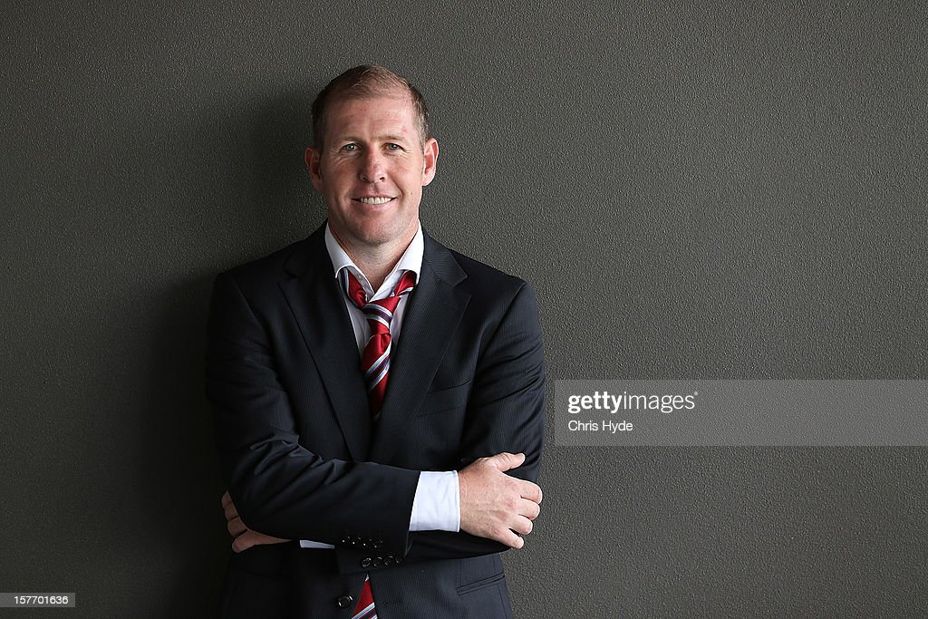 Scott Chipperfield poses for a photograph during the 2012 Football Federation Australia Hall of Fame induction ceremony at Gambaro Restaurant and Function Centre on December 6, 2012 in Brisbane, Australia.