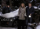 LIVE Scott Clifton Amanda Setton Susan Haskell and Scott Evans in a scene that airs the week of February 8 2010 on ABC Daytime's 'One Life to Live'...