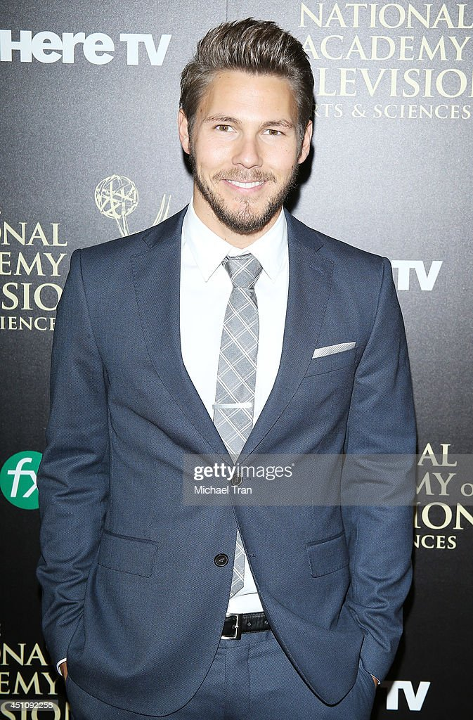<a gi-track='captionPersonalityLinkClicked' href=/galleries/search?phrase=Scott+Clifton&family=editorial&specificpeople=675202 ng-click='$event.stopPropagation()'>Scott Clifton</a> arrives at the 41st Annual Daytime Emmy Awards held at The Beverly Hilton Hotel on June 22, 2014 in Beverly Hills, California.