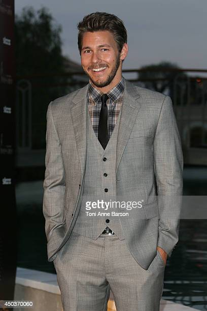 Scott Clifton attend a Party at the Monte Carlo Bay Hotel on June 9 2014 in MonteCarlo Monaco